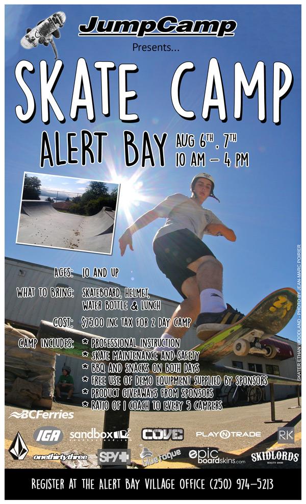 Skate Camp Alert Bay
