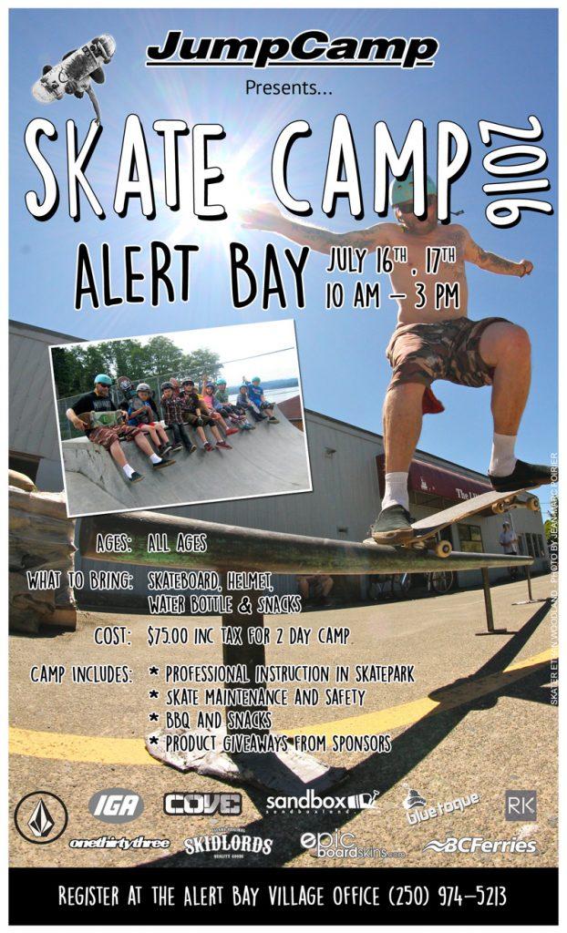 SkateCamp 2016 Alert Bay