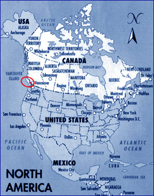 Where Is Vancouver On The Map Of Canada.Top 10 Punto Medio Noticias World Map Canada Vancouver